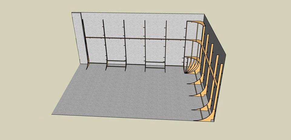 Planos para la construción de un ciclorama