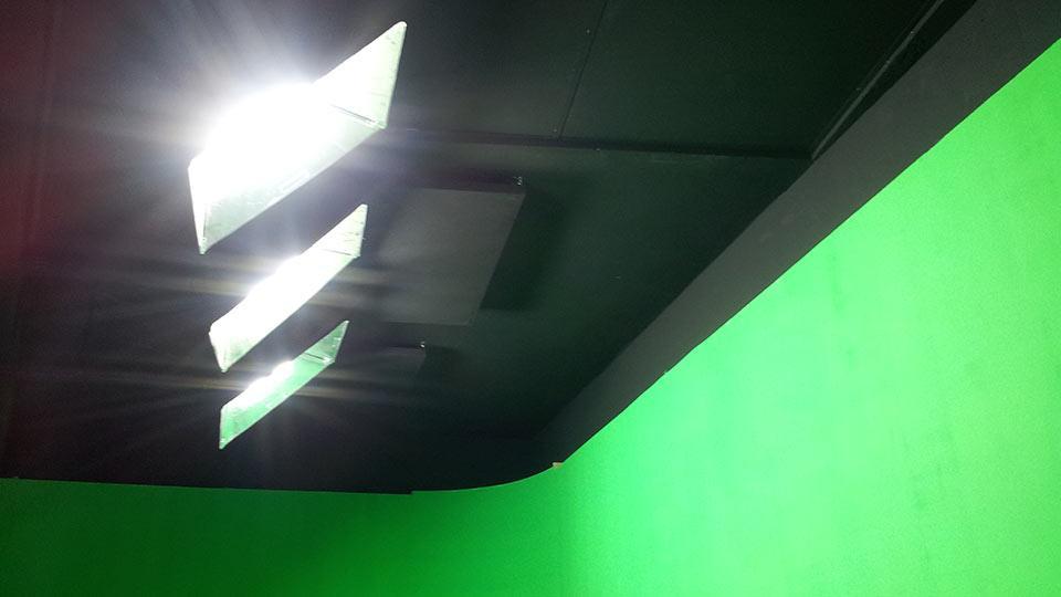 La iluminación del ciclorama