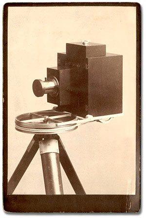 La primera cámara de fotografía 360